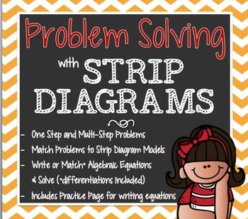 Strip Diagrams & Algebraic Equations STAAR Aligned