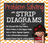 Strip Diagrams & Algebraic Equations STAAR Aligned