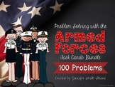 Problem Solving Task Card Bundle (All Armed Forces)