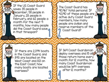 Problem Solving with the Coast Guard Task Card
