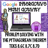 Problem Solving with the Pythagorean Theorem Google Ready