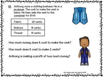 Problem Solving with word problems and review