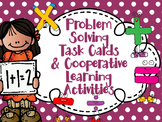 Editable Problem Solving Task Cards with Cooperative Learning Activities