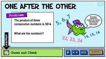 Problem Solving Unit 4: Guess and Check