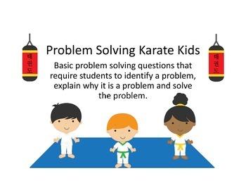 Problem Solving Karate Kids