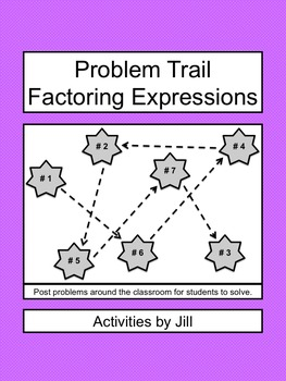 Problem Trail: Factoring Expressions
