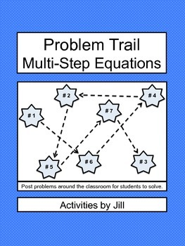 Problem Trail: Multi-Step Equations