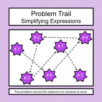 Problem Trail: Simplifying Expressions