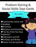 Problem and Social Skills Task Cards BUNDLE