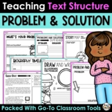 Problem and Solution - Activities Printables and Reading Passages