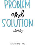 Problem and Solution Activity