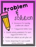 Problem and Solution Activity Package