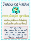 Problem and Solution Anchor Chart