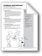 Problem and Solution (Book Report Form)