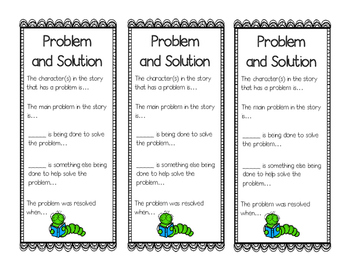 Problem and Solution Bookmarks