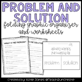 Problem and Solution Graphic Organizer and Printables