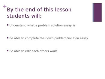 Problem and Solution Essay: IELTS