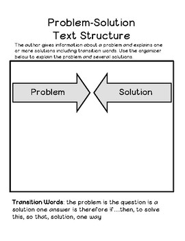 Problem and Solution Essay with Guided Notes, Organizers, Samples, and a Rubric