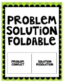 Problem and Solution Foldable