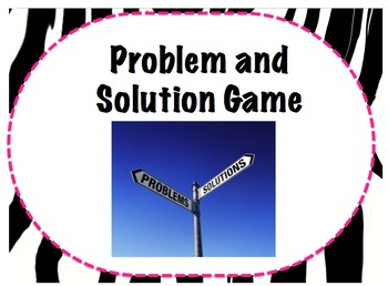 Problem and Solution Game