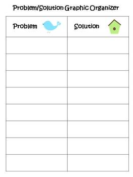 Problem and Solution Literacy Center