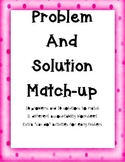 Problem and Solution Match-Up