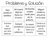 Problem and Solution Match in Spanish