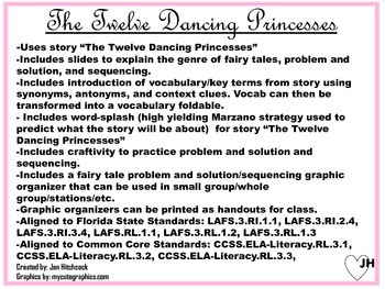 Problem and Solution Mini-Lesson: The 12 Dancing Princesses