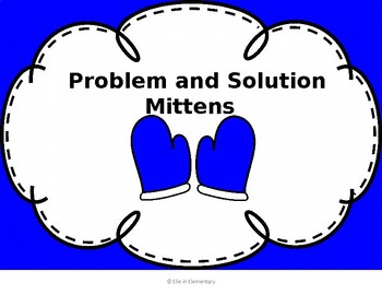 Problem and Solution Mittens