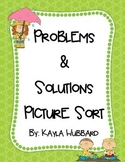 Problem and Solution Picture Sort