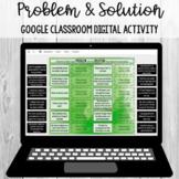 Problem and Solution Sort: Google Classroom Digital Activity [SOL 4.5e]