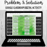 Problem and Solution Sort: Google Classroom Digital Activi