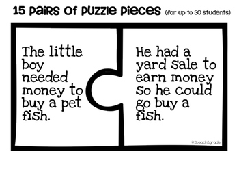 Problem and Solution Puzzle Pieces