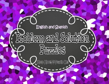 Problem and Solution Puzzles Bilingual