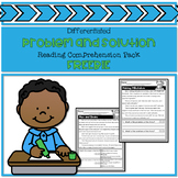 Problem and Solution Reading Comprehension Pack Freebie