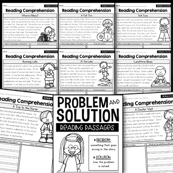 Problem and Solution - Reading Passages