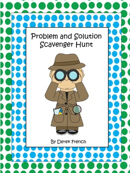 Problem and Solution Scavenger Hunt
