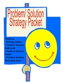 Summarizing- Problem and Solution Strategy Lesson Packet