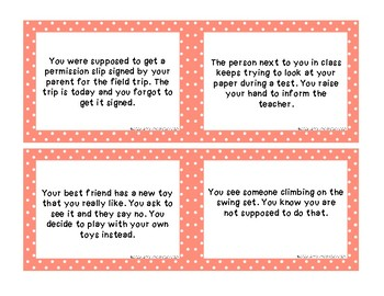 Problem and Solution Task Cards