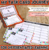Problem and Solution Task Cards (Differentiated)