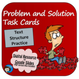 Problem and Solution Task Cards Digital Resource - Distanc