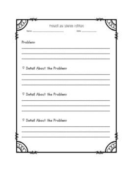 Problem and Solution Templates