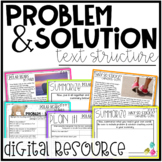 Problem and Solution Text Structure - A Digital Resource f