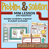 Problem and Solution Text Structure PowerPoint w/ Student Worksheet