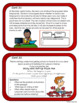 Problem and Solution  - Text Structure Task Cards