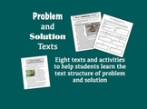 Problem and Solution Texts for Teaching Text Structure