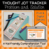 Reading Response: Problem and Solution - A Comprehension Sticky Note Tracker