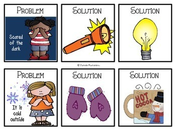 Problem and Solution Unit {Posters, Printables, Matching Cards & More}