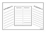 Problem and Solution Worksheet