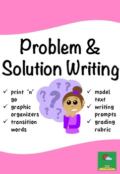 Problem And Solution Writing By The Language Arts Lab  Tpt Problem And Solution Writing What Is Thesis In Essay also Thesis For A Narrative Essay  Essay For High School Students